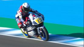 The Warm Up session for Moto2? in its entirety for the Spanish GP