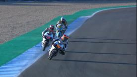 Watch the Moto3™ Warm Up session ahead of the main event in Spanish
