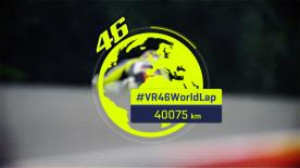 Lap 15 of the Spanish GP marked Valentino Rossi's 40,075th kilometre racing in the World Championship. Relieve some of his greatest moments