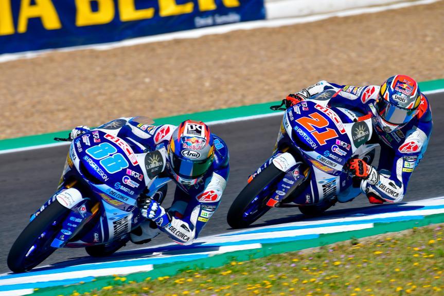 Jorge Martin, Fabio Di Giannantonio, Del Conca Gresini Moto3, Gran Premio Red Bull de España