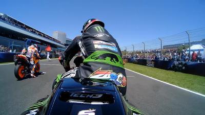 Spanish GP: Multi-OnBoard-Start