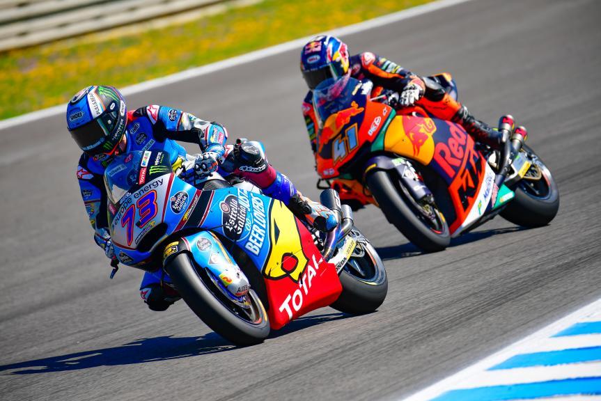 Alex Marquez, Eg 0,0 Marc VDS, Brad Binder, Red Bull KTM Ajo, Gran Premio Red Bull de España