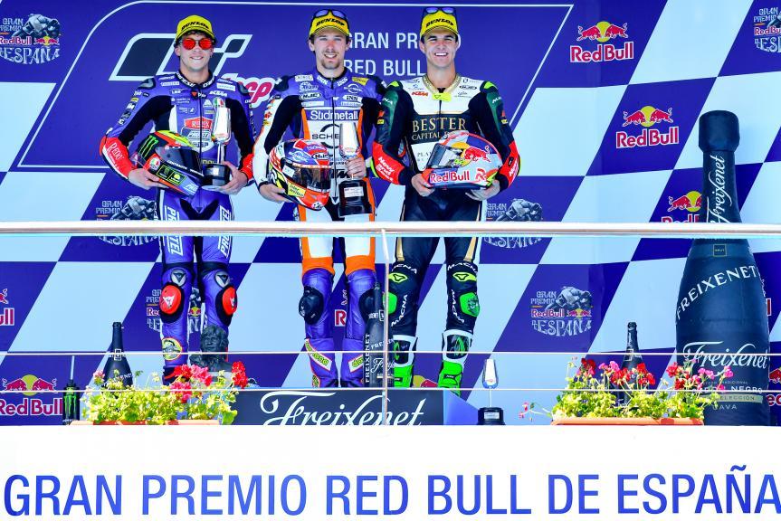 Philipp Oettl, Marco Bezzecchi, Marcos Ramirez, Gran Premio Red Bull de España