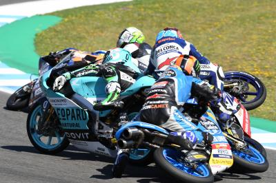 FREE VIDEO: Carnage at turn 6 with 4 laps to go in Jerez!