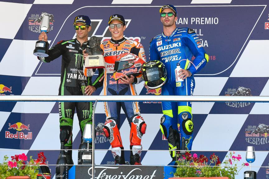Marc Marquez, Johann Zarco, Andrea Iannone, Repsol Honda Team, Gran Premio Red Bull de España