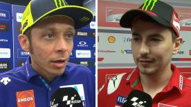 We catch up with various riders from the MotoGP™ grid to get their thoughts on the Spanish GP