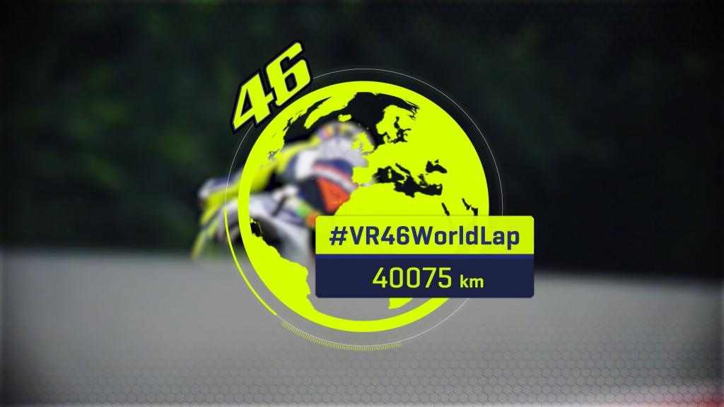 Rossi World Lap