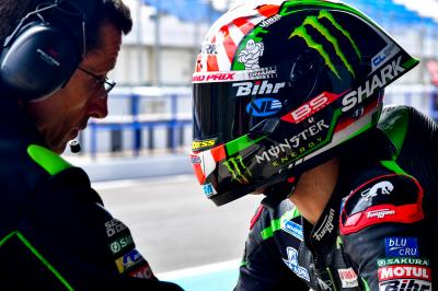 Zarco mène le Test post-GP à Jerez