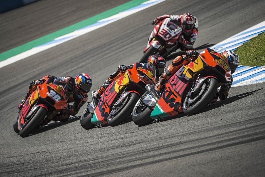 Pol Espargaro, Mika Kallio, Bradley Smith, Red Bull KTM Factory Racing, Gran Premio Red Bull de España