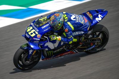 """Rossi: """"Buoni test e le nuove Michelin mi piacciono"""""""
