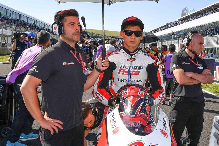 Kaito Toba, Honda Team Asia, Gran Premio Red Bull de España