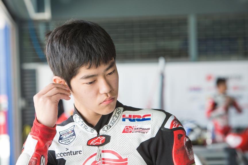 Toshiki Senda, Asia Talent Cup