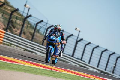 Deux journées d'essais remplies Moto3™ et Moto2™ en Aragón
