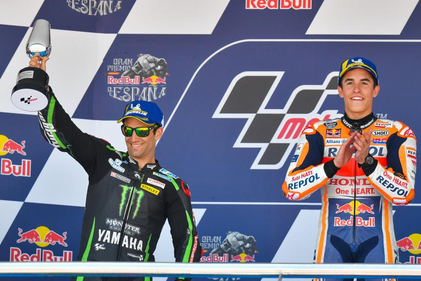 Johann Zarco, Monster Yamaha Tech 3, Marc Marquez,Gran Premio Red Bull de España