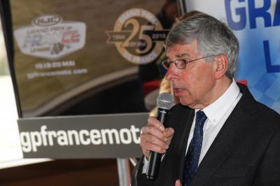J-6 avant le GP de France: Entretien avec Claude Michy!