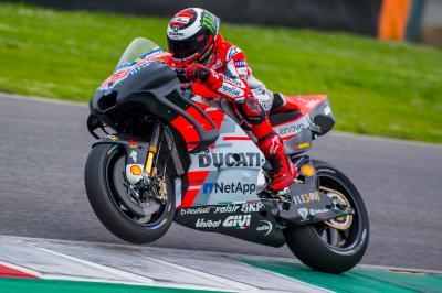 Mugello testing: Marquez fastest, Lorenzo tries new chassis