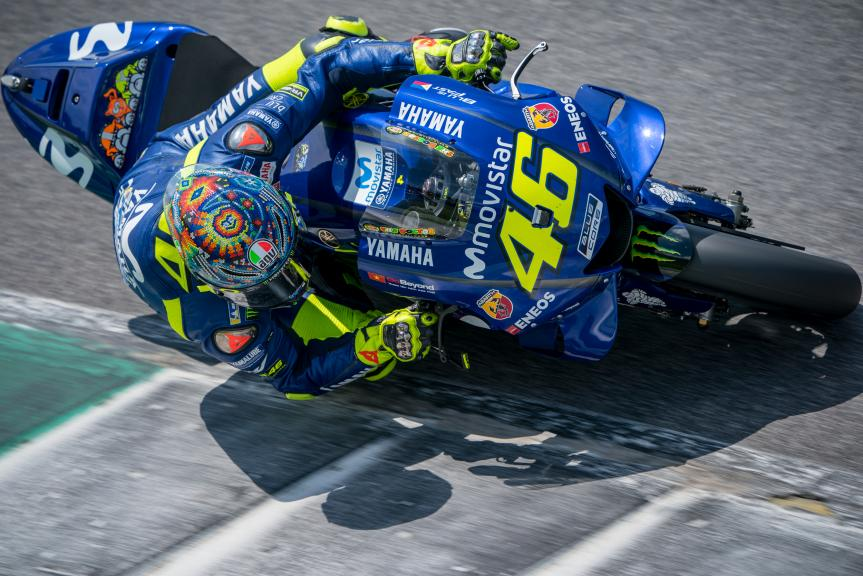 Valentino Rossi, Movistar Yamaha MotoGP, Mugello Test @Photomilagro