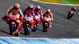 Some of the best images from the Spanish GP at the Circuito de Jerez