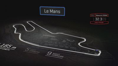 ¿Dónde se puede adelantar en Le Mans?