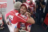 Andrea Dovizioso, Luigi Dall'Igna, Ducati Team, Grand Prix of Qatar