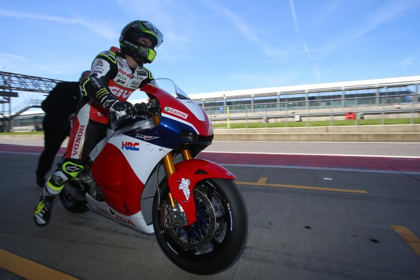 Cal Crutchlow, LCR Honda Castrol, New Silverstone track