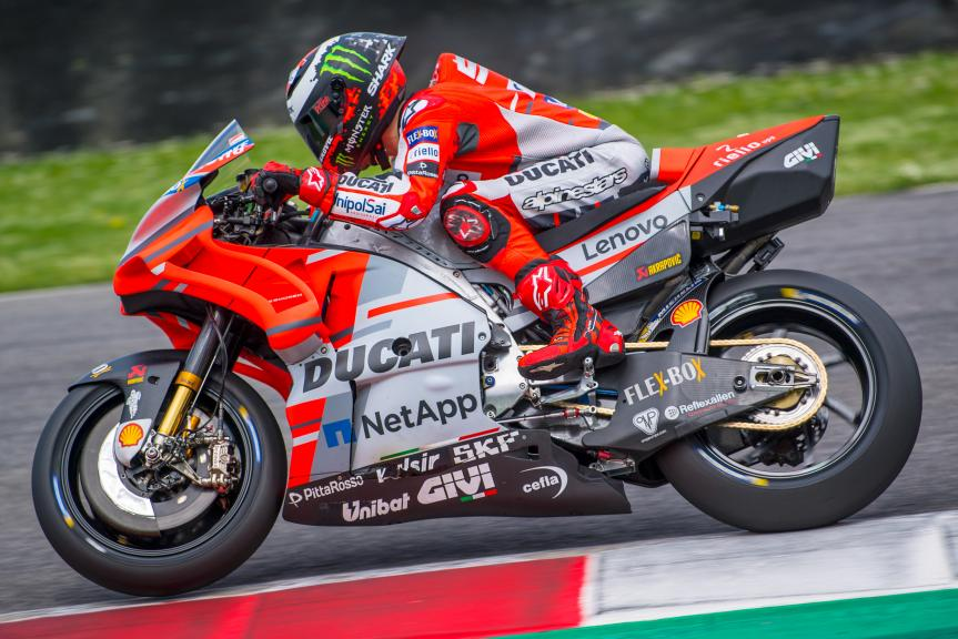 Jorge Lorenzo, Ducati Team, Mugello Test