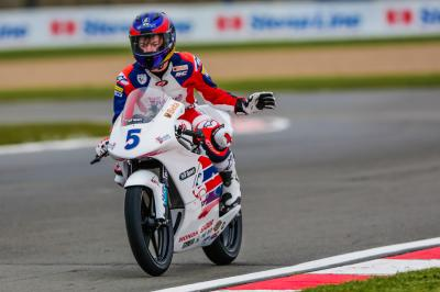 Max Cook reviews his first round in Donington