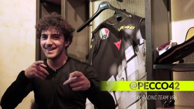 A day in the life of a VR46 Academy Rider: Pecco Bagnaia