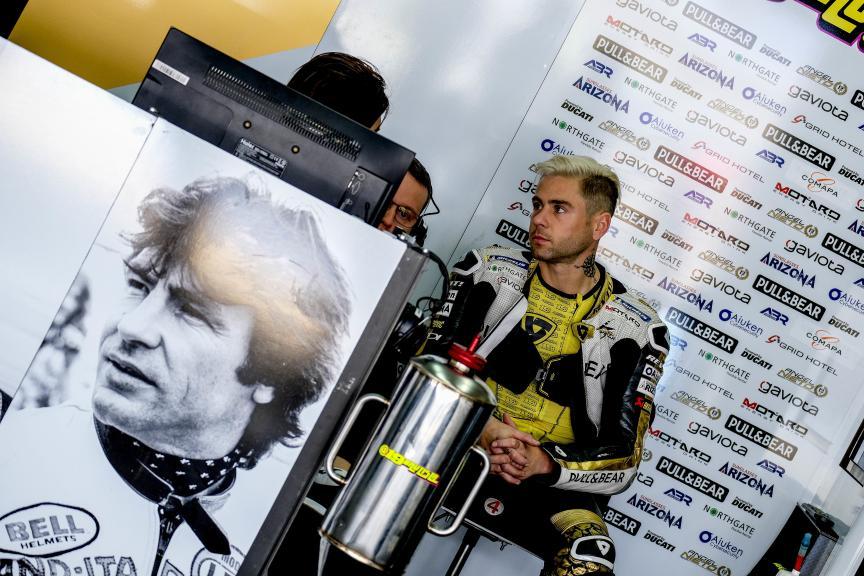 Alvaro Bautista, Angel Nieto Team, HJC Helmets Grand Prix de France
