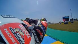 Revivez la deuxième séance d'essais libres de la catégorie MotoGP™ au Mans.