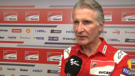 Paolo Ciabatti, Sporting Director of Ducati, talks about Dovizioso's new contract and his options for who will complete the team