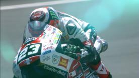 Niccolò Antonelli termine en tête de la première journée d'essais libres au Mans devant Kaito Toba et Enea Bastianini.