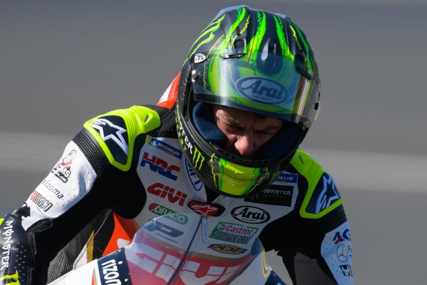 Cal Crutchlow, LCR Honda Castrol, HJC Helmets Grand Prix de France