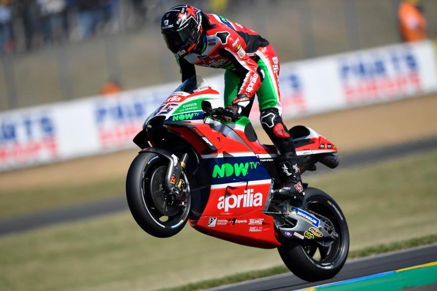 Scott Redding, Aprilia Racing Team Gresini, HJC Helmets Grand Prix de France