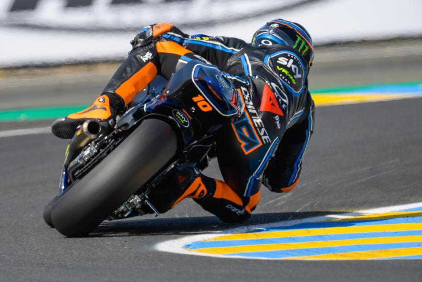 Luca Marini, Sky Racing Team VR46, HJC Helmets Grand Prix de France