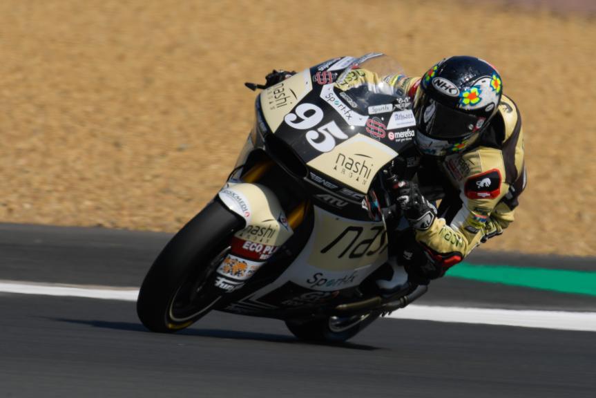 Jules Danilo, Nashi Argan SAG Team, HJC Helmets Grand Prix de France