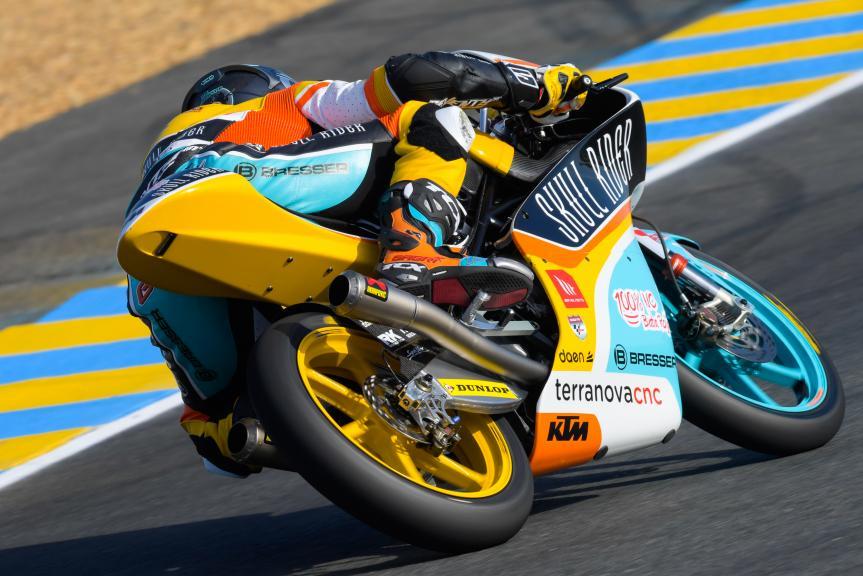 Gabriel Rodrigo, RBA BOE Skull Rider, HJC Helmets Grand Prix de France