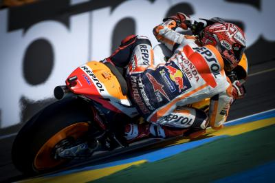 Marquez, Dovi and Viñales split by less than a tenth