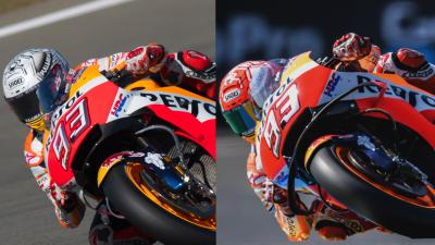 Marquez and Pedrosa reveal new fairings