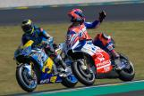 Danilo Petrucci, Alma Pramac Racing, Thom Luthi, Eg 0,0 Marc VDS, HJC Helmets Grand Prix de France