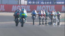 The third Free Practice session in full for the lightweight class at the French GP