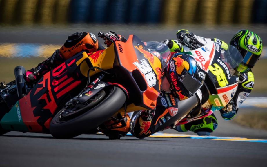 Bradley Smith, Red Bull KTM Factory Racing, Cal Crutchlow, LCR Honda Castrol, HJC Helmets Grand Prix de France