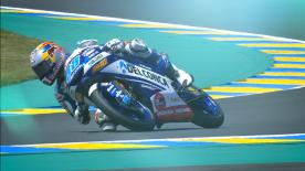 Spaniard superb in Moto3™, coming ahead of Kornfeil and Bastianini in qualifying session