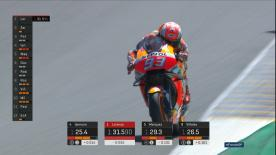 Revivez les moments décisifs des qualifications MotoGP™ au HJC Helmets Grand Prix de France