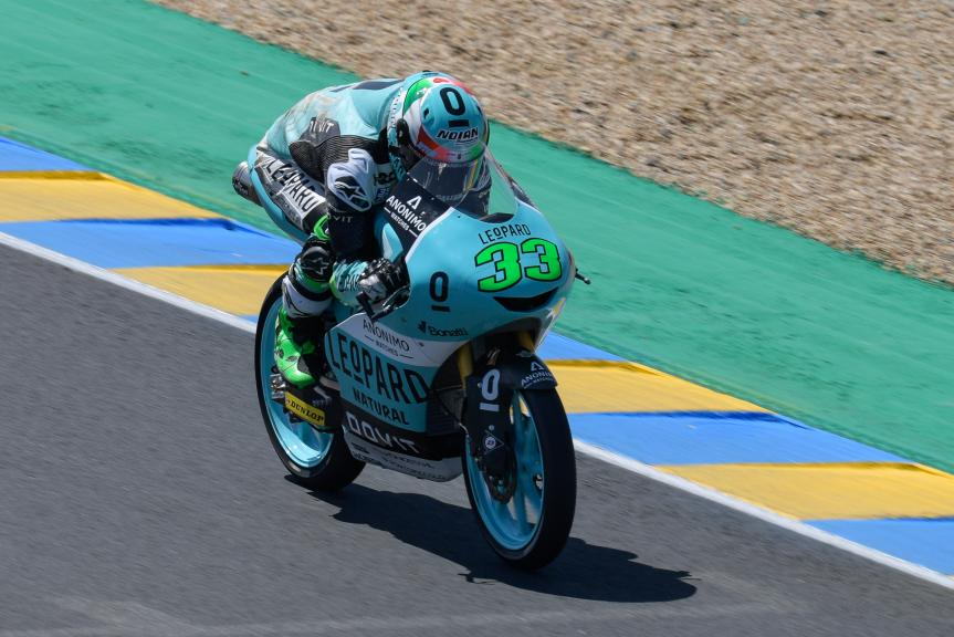 Enea Bastianini, Leopard Racing, HJC Helmets Grand Prix de France