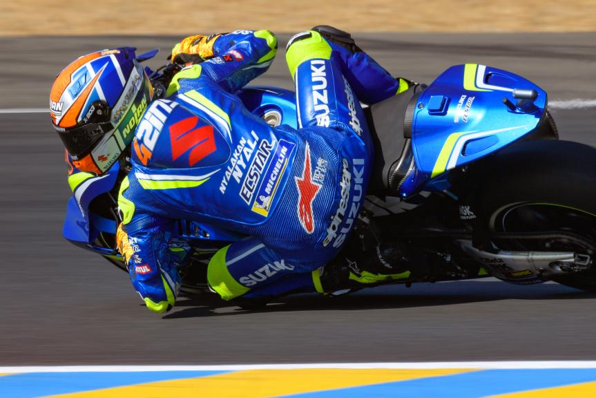 Alex Rins, Team Suzuki Ecstar, HJC Helmets Grand Prix de France