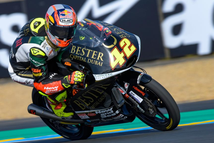 Marcos Ramirez, Bester Capital Dubai, HJC Helmets Grand Prix de France