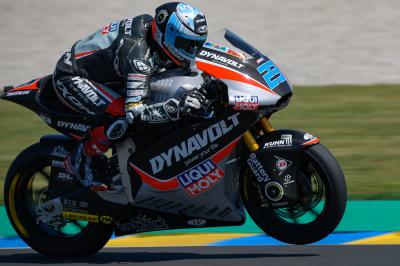 Schroetter leads Vierge and Bagnaia into qualifying