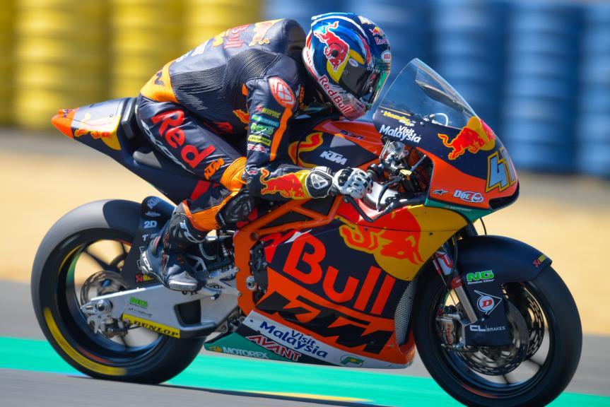 Brad Binder, Red Bull KTM Ajo, HJC Helmets Grand Prix de France