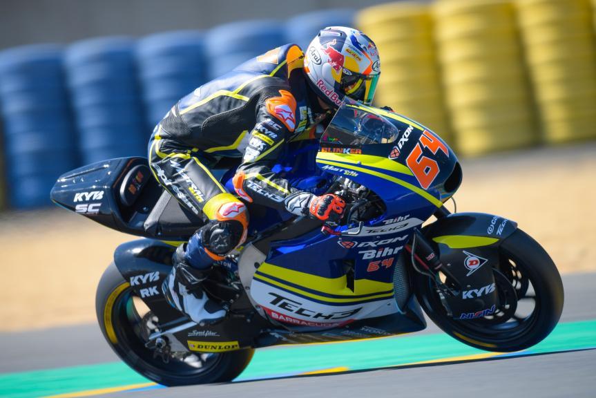 Bo Bendsneyder, Tech 3 Racing, HJC Helmets Grand Prix de France